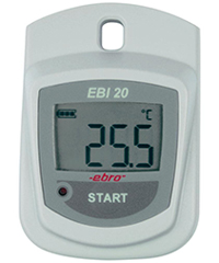 EBI 20-T1 Standard Temperature Data Logger