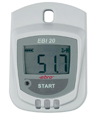 EBI 20-TH1 Standard Temperature / Humidity Data Logger